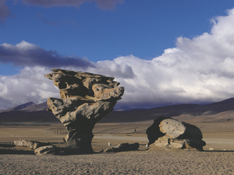 Arbol de Piedra in der Siloli Wüste