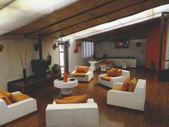 Lounge im Salzhotel Palacio de Sal