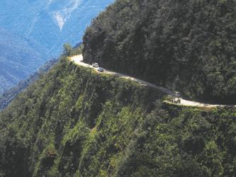 auf der Camino de la Muerte