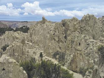 Mondtal bei La Paz