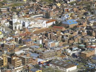 Copacabana am Titicaca-See