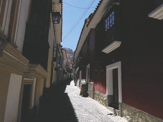 Calle Jaen, La Paz