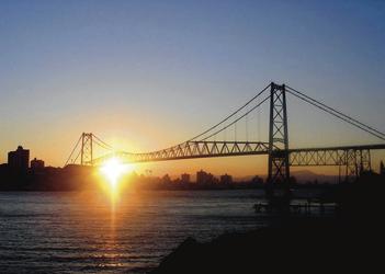 Hängebrücke von Floreanopolis