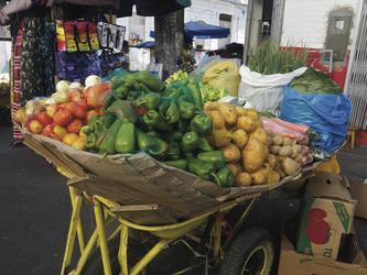 Bunter Markt in Manaus