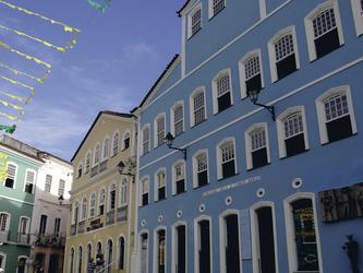 in der Altstadt von Salvador da Bahia