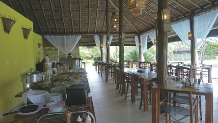 Restaurant mit Frühstücksbuffet