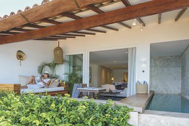 Terrasse der Suite ©Daniel Pinheiro