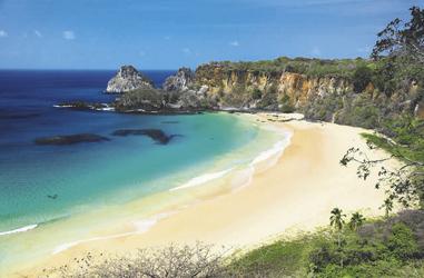 Strand auf Fernando de Noronha