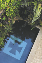 kleiner Pool in der Villa Bahia