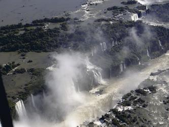 Die Wasserfälle aus der Luft
