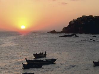 Sonnenuntergang bei Salvador da Bahia