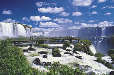 Wasserfälle von Iguazu, ©S.A.T.