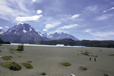 Lago Grey im Nationalpark Torres del Paine