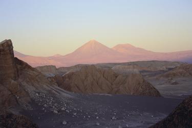 Sonnenuntergang in der Atacama-Wüste, ©Anja Hofer