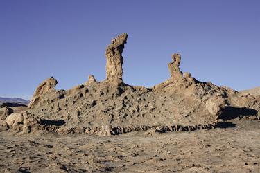 Felsformation im Valle de Luna, ©Anja Hofer