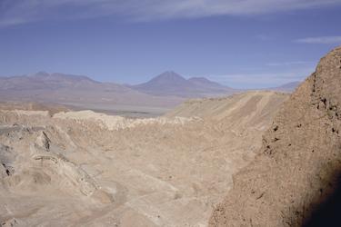 Blick auf den Vulkan Licancabur, ©Anja Hofer