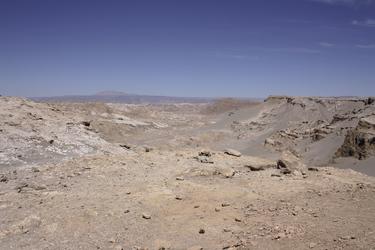 Valle de Luna in der Atacama-Wüste