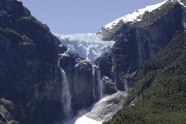 der hängende Gletscher Ventisquero Colgante