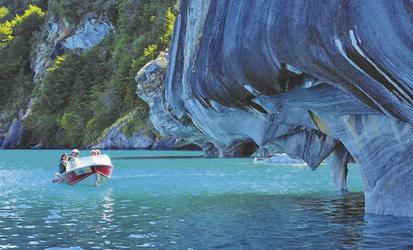Marmorhöhlen, Lago General Carrera