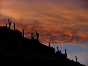 Abendstimmung am Salar de Uyuni, ©explora Chile