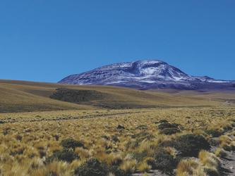 Blick auf den Cerro Toco