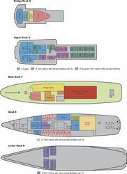M/V Ushuaia Deckplan