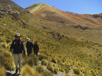 wandern im Altiplano