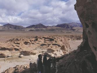 Petroglyphen bei Hierbas Buenas