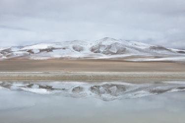 Winterstimmung am Salar de Tara