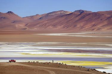 Hochlandlagune im Altiplano, ©explora Chile