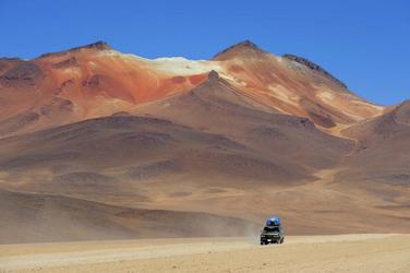 in der Siloli-Wüste