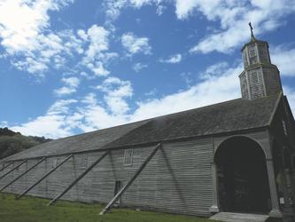 Holzkirche auf der Insel Chiloe