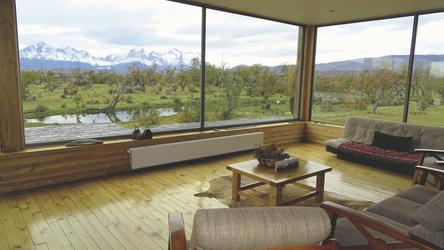 Lounge mit Ausblick