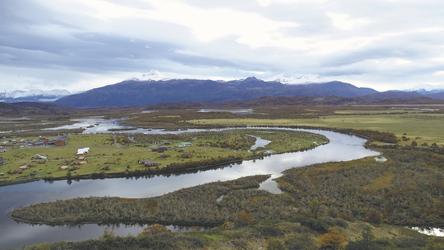 Blick auf den Rio Serrano