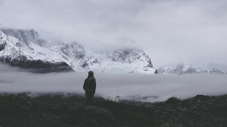 Regenstimmung im Nationalpark Torres del Paine