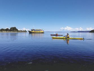 Ausflug mit dem hoteleigenen Boot