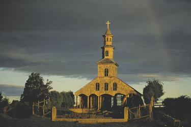 Holzkirche auf Chiloe