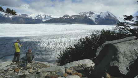 Blick auf den Grey Gletscher, ©Moser Active