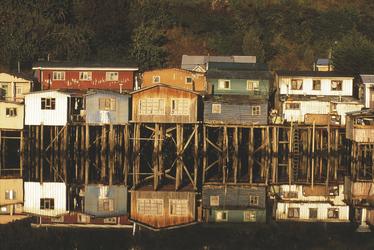 Pfahbauten in Castro - Insel Chiloe
