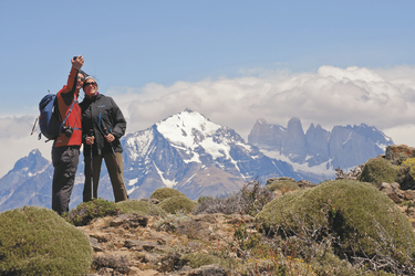Ausflug im Nationalpark Torres del Paine