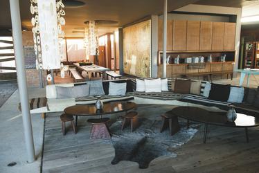 Lounge-Bereich Hotel Tierra Atacama