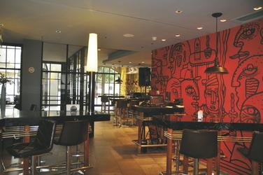 Restaurant im Hotel Cumbres Lastarria