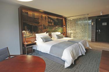 Zimmerbeispiel Hotel Cumbres Lastarria