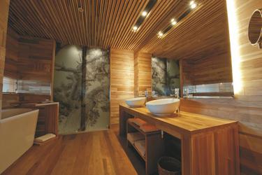 Badezimmerbeispiel Hotel Tierra Patagonia