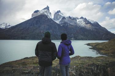 Ausflug mit Blick auf das Paine Massiv, ©explora