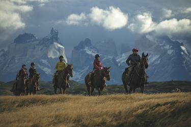 Reitausflug im Nationalpark Torres del Paine, ©explora