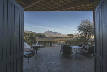 Terrasse mit Ausblick, ©explora