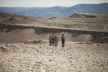 Aussichtspunkt im Valle de Luna