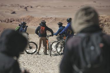Ausflug mit dem Mountain-Bike