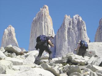 Wanderung zu den Torres Türmen  ©Moser active Chile